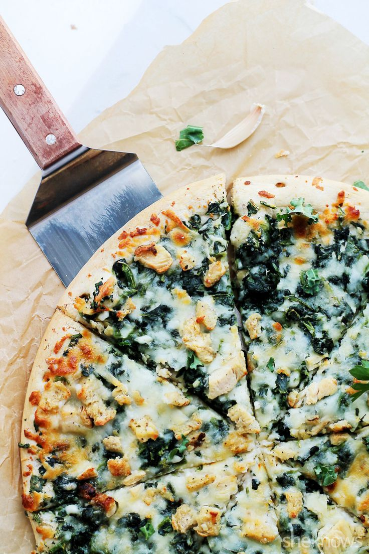 Kale and chicken pizza is the foolproof way to get kale haters to change their minds