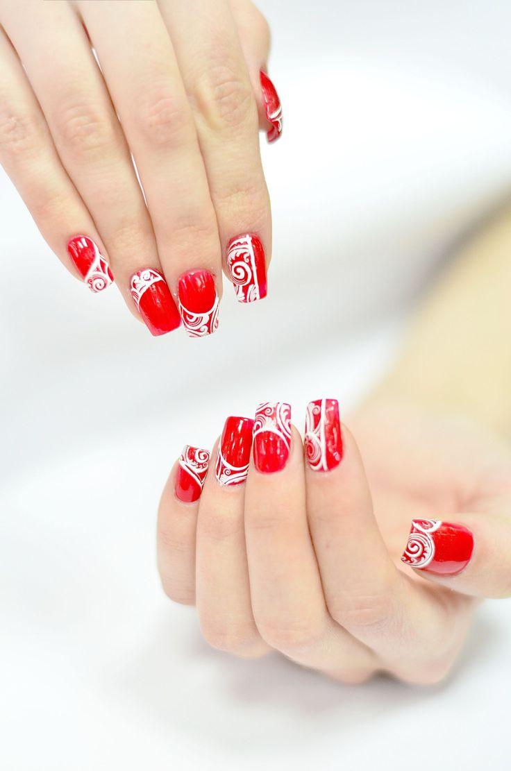 die besten 25 rote n gel ideen auf pinterest rote nagelkunst rote n gel und rote fingern gel. Black Bedroom Furniture Sets. Home Design Ideas
