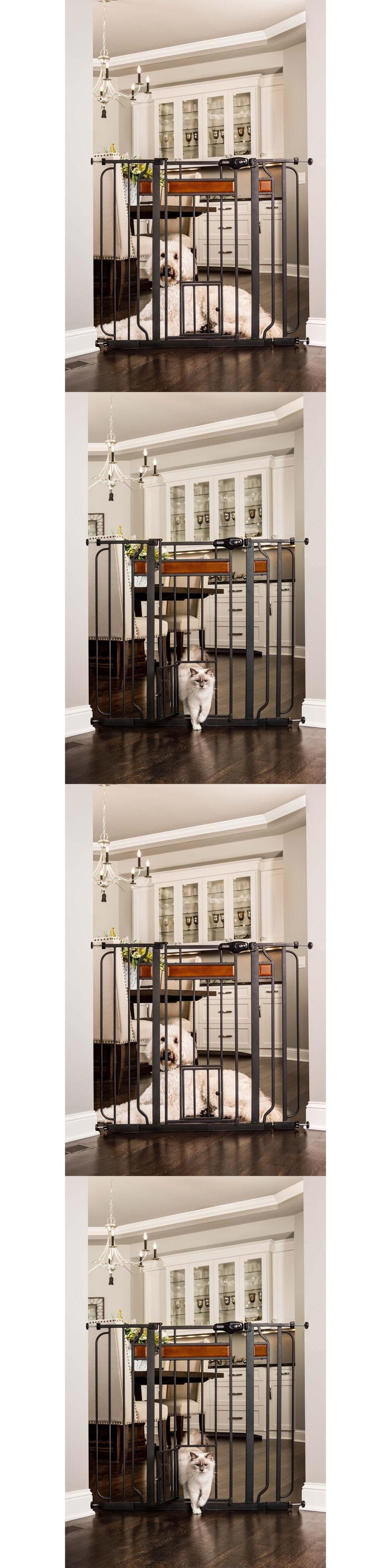 Fences and Exercise Pens 20748: Extra Tall Pet Gate Baby Safety Walk Door Dog Thru Fence Child Infant Through -> BUY IT NOW ONLY: $62.99 on eBay!