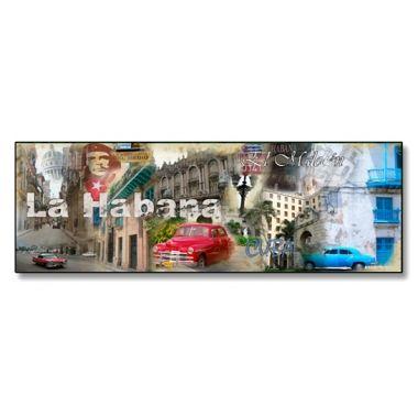 #CUADRO LA HABANA #Lámina fotográfica de medida 30x90 impresa sobre metacrilato de 5mm de grosor. Espectacular acabado en un material muy resistente y original. #Decorar tu hogar u oficina nunca ha sido tan fácil como ahora con nuestra tienda on-line de www.marcospara.com. 46,59€