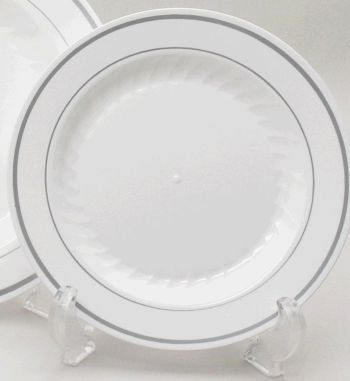 Masterpiece plastic plates and dinnerware combines the elegance and refinement of hand-painted china with the convenience of a disposable.  sc 1 st  Pinterest & 16 best Plastic and Plates images on Pinterest   Paper plates Count ...