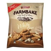 Farmbake Cookies White Chocolate – Arnott's 350g | Shop Australia