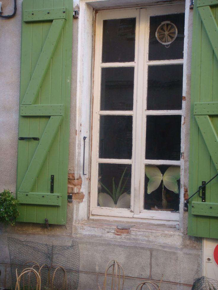 Fenêtre Rue Obscure