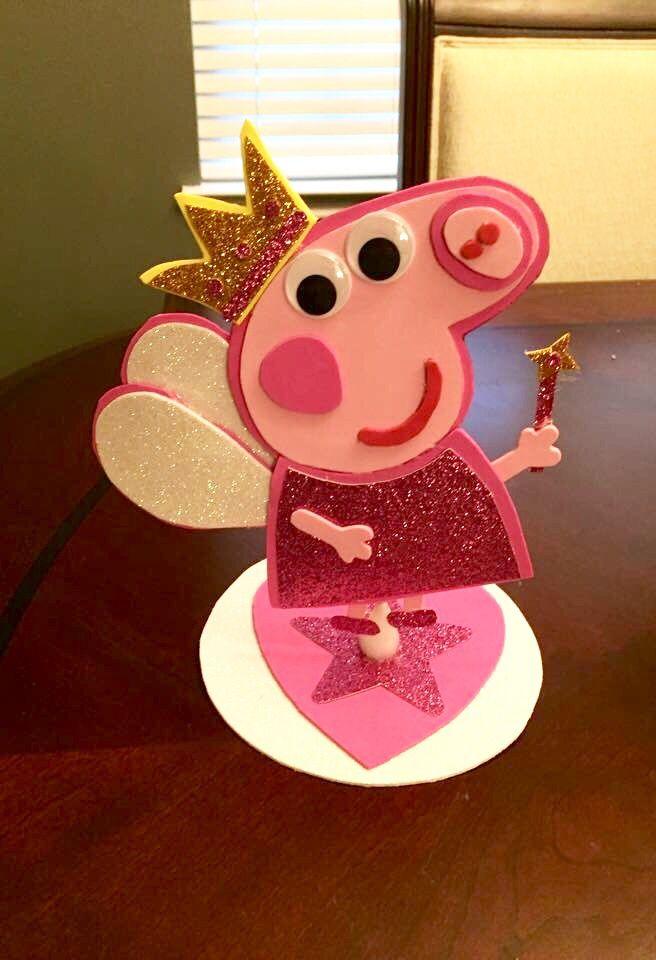 Peppa pig center piece