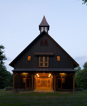Gentleman's Barn - eclectic - garage and shed - new york - by Cushman Design Group