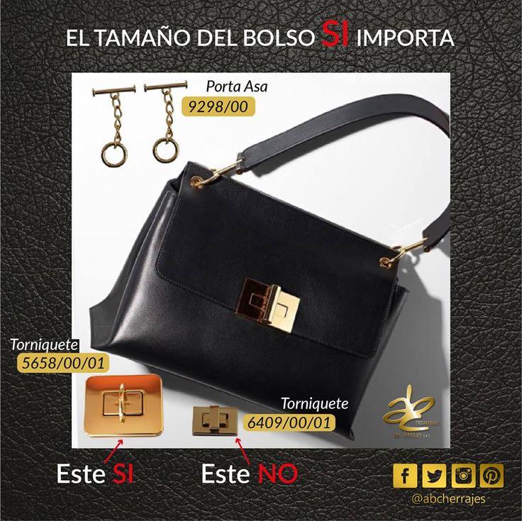 Siempre que vayas a comprar un herraje, no olvides tener en cuenta las medidas de tu bolso. • Puedes hablar con nosotros por los números: Cel / Wsap ventas: 3043331485 Cel / Wsap ventas: 3046651180 Cel / Wsap diseño: 3209245954 #Barrete #Hebilla #broche #Ojalete #Argolla #Keys #Ring #Anillos #Pasador #Dijes #Mancornas #Torniquete #Manijas #DogClips #Bisuteria #Trimmings #Accesorios #Accesories #Jewelery #Mosquetón #PortaAsas #chains #cadenas #ABC #ABCHerrajes