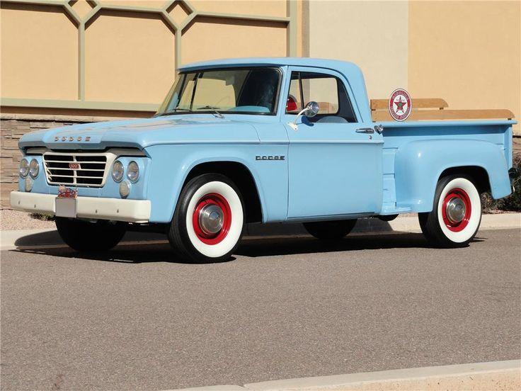 1962 dodge d100 pick up dodge trucks pinterest. Black Bedroom Furniture Sets. Home Design Ideas