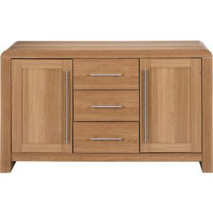 Hygena Strand Oak 2 Door Sideboard