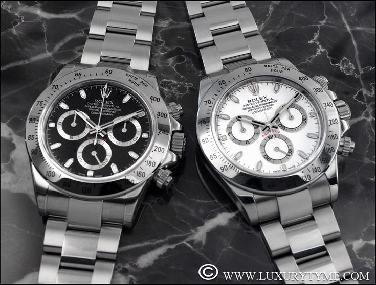 The Evolution of the Modern Era Rolex Daytona | Luxury Tyme: The Rolex Reference Page