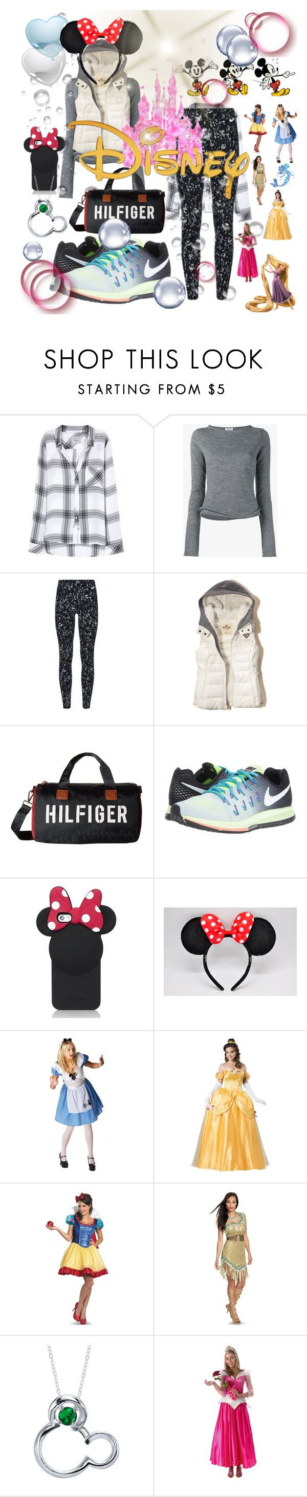 """Trip to Disney Anaheim"" by tropical-vegas-finest ❤ liked on Polyvore featuring Rails, Acne Studios, NIKE, Hollister Co., Tommy Hilfiger, Kate Spade and Disney"