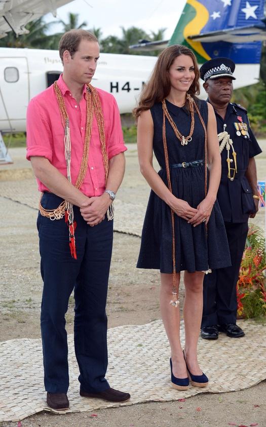 Принц Уильям и Кейт в Полинезии