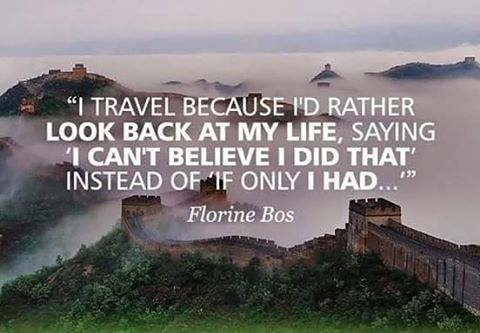 Even when it's a struggle...No regrets, don't give up! #travelintoliving 📷@hostellinginternational