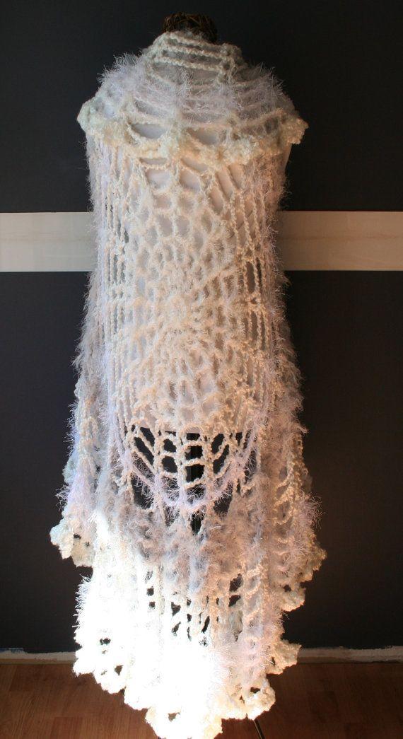 Haak Festival Vest gebreide trui Vest gehaakte door FreeMyGypsySoul