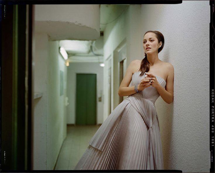 Marion Cotillard by Benoit Peverelli for Madame Figaro, June 2014