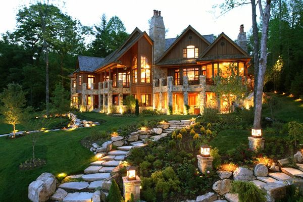 coolCabin, Lakes House, Dreams Home, Logs, Dreams House, Mountain Home, Mountain House, Yards, North Carolina
