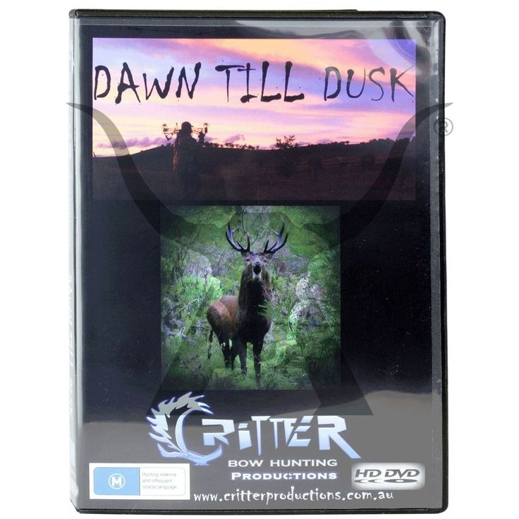 Hunting DVD Bow Hunting Critter Productions Dawn Till Dusk