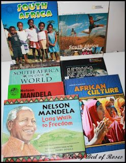 South Africa Unit Study YouTube links, www links, recommended books, photo journals, Notebook page links, Cooking links,