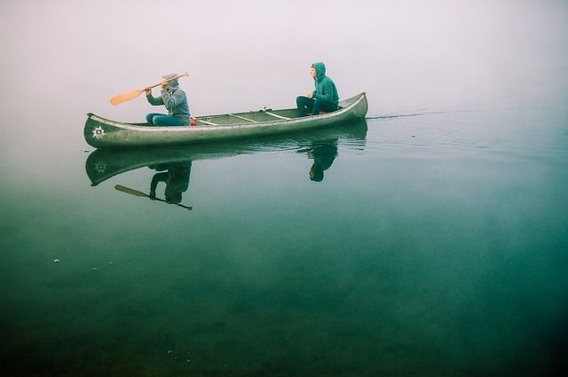 Free Photo: Canoe, Boat, Paddling, Water - Free Image on Pixabay - 480465