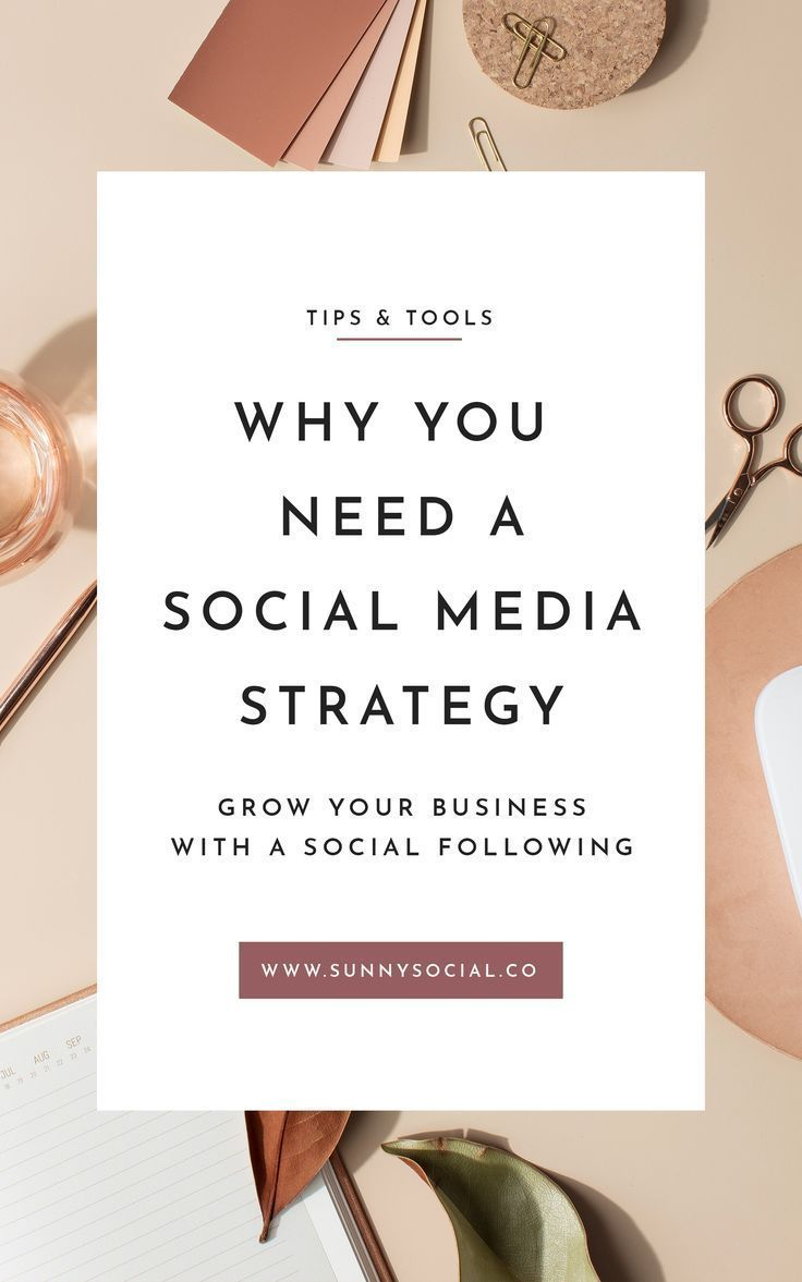 Why You Need a Social Media Strategy // Sunny Social — #ssm #socialmediaplannin…