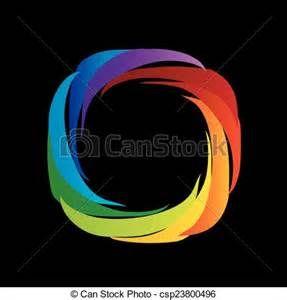 Spectre, visible, lumière-, couleur, roue, conception