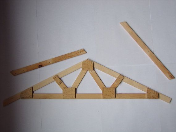 Roof Truss Plans How To Build Make Your Own By HowtoBuildPlans
