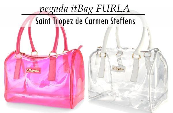 Bolsa transparente de plástico: Carmen Steffens Saint Tropez