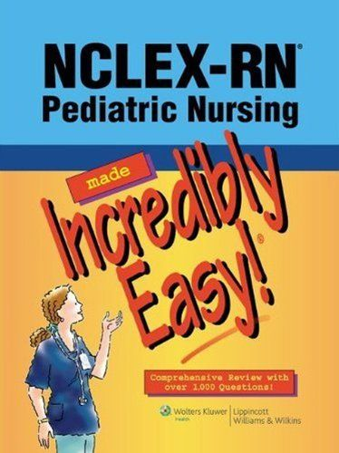 81 best nursing made incredibly easy images on pinterest nclex rn pediatric nursing made incredibly easy incredibly easy series by fandeluxe Images