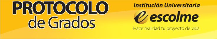 Protocolo de Grados ESCOLME – : El pasado viernes 2 de agosto de 2013 se llevó a cabo la ceremonia de protocolo de grados para los futuros egresados de los programas tecnológicos y técnicos. La ceremonia la encabezó el Dr. Juan Carlos Cadavid Botero, rector de la institución, y estuvo acompañado en la mesa principal por el Dr. Fernando Molina López, fundador y la Dra. Teresa Luna, Vicerrectora Académica, también estuvieron presentes los decanos. El objetivo de la ceremonia es...