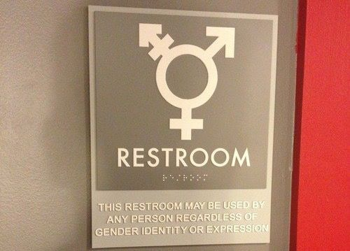 25 Best Ideas About Gender Neutral Bathroom Signs On Pinterest Gender Neutral Toilets Gender