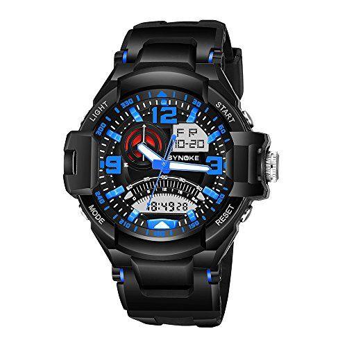 YZCX Reloj Militar Deporte Multifuncional Luminoso Calendario Cronómetro Digital Pantalla Reloj para Hombre #YZCX #Reloj #Militar #Deporte #Multifuncional #Luminoso #Calendario #Cronómetro #Digital #Pantalla #para #Hombre