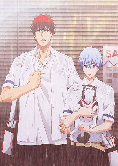 Kuroko no Basket || Kagami and Tetsu are the best! Wrote a review about this anime, you can read it here: http://www.animedecoy.com/2015/06/kuroko-no-basket-review.html What did you think about the final episode?