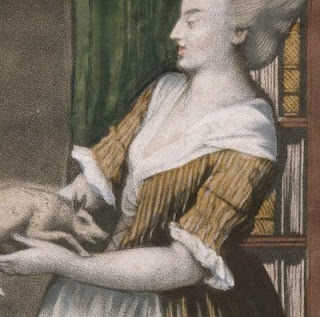 """Detail of """"A pleasing method of rouzing the doctor"""", 1775; LWL 775.08.31.01+"""