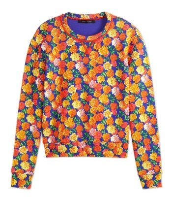 Marc Jacobs Floral Cashmere Sweater - ShopBAZAAR