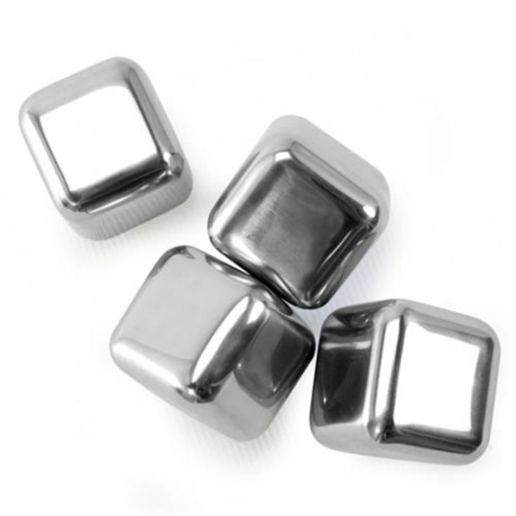 Personal Edge : Danesco 8354554SS Stainless Steel Reusable Ice Cubes
