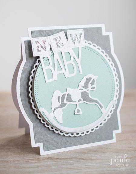 Paula Pascual: Tonic | Rocking Horse New Baby Card