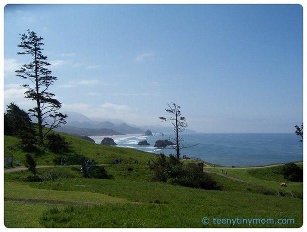 Ecola State Park  Cannon Beach Oregon Reise Wandern USA