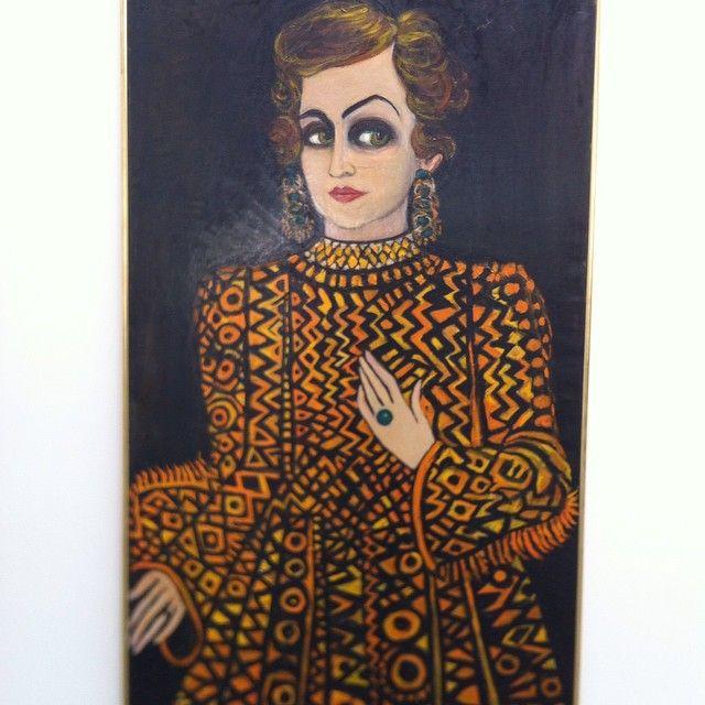 Fahrelnissa-Zeid-Someone-from-the-past-self-portrait-1980.-At-Sharjah-Biennial-12.jpg (640×640)