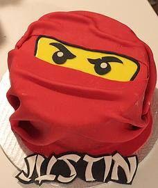 Gâteau Ninjago (modèle)