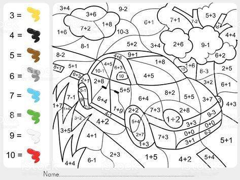 paint-color-by-addition-and-subtraction-numbers-vector