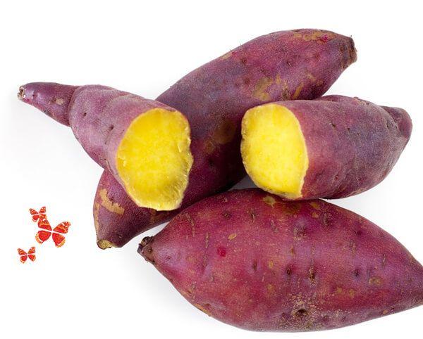 Os imensos benefícios da batata doce para a sua saúde