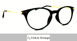 Dickens Small Round Reading Glasses - 522 Black