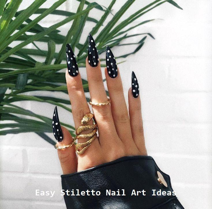 30 große Stiletto Nail Art Design-Ideen #nailideas #naildesigns – Stiletto Nail art