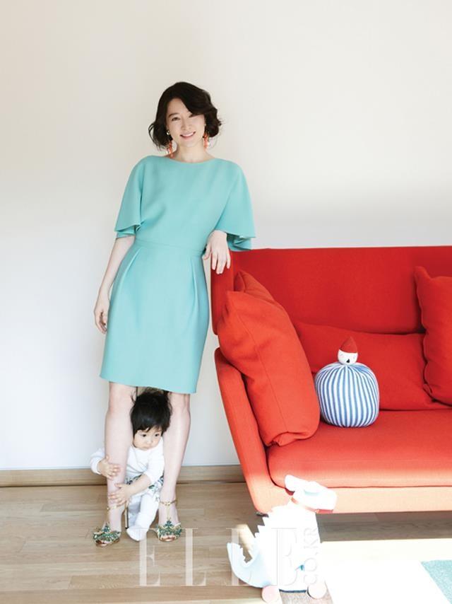 Lee Young-ae // Elle Korea