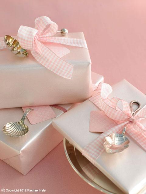 Sandra Kaminski  #pretty gift ideas #wedding gift ideas #pink wedding #pink gifts #antique silver