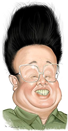 Caricature Collection: Kim Jong Il