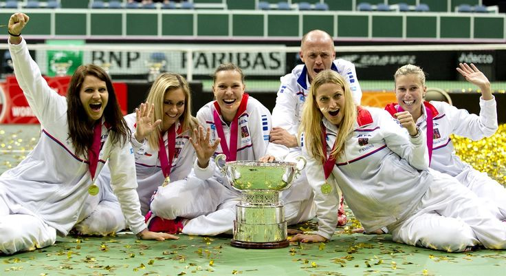 České tenistky ovládly finále Fed Cupu