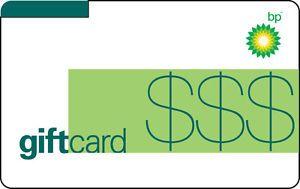 $100 BP Gas Gift Card For Only $93!! - FREE Mail Delivery