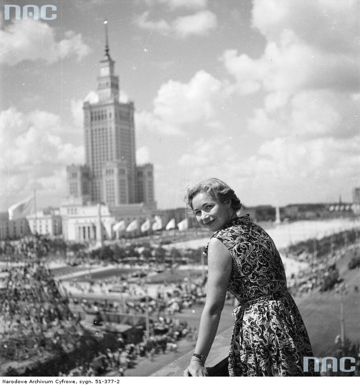 Palace of Culture, Warsaw 1955