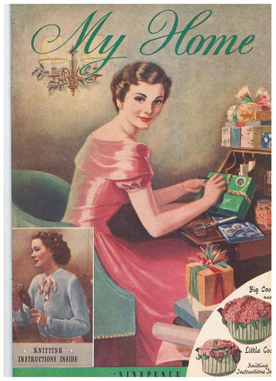 17 best images about 1950 39 s my home magazines on pinterest for Old magazines
