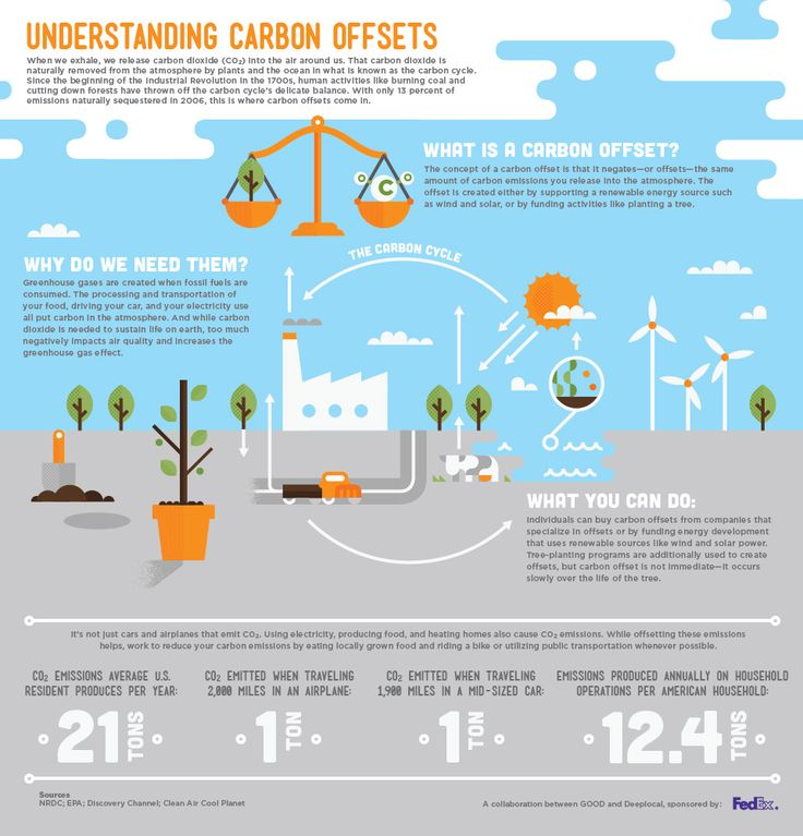 Understanding Carbon Offsets [http://awesome.good.is/transparency/web/1206/understanding-carbon-offsets/flat.html]